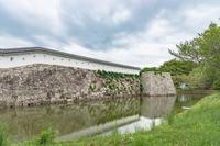 赤穂城 本丸内堀の風景