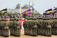 自衛隊 式典