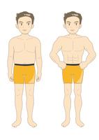 メンズエステ・肥満からマッスル(イメージA)