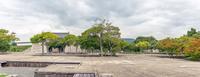 赤穂城 本丸御殿跡の風景