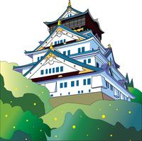 日本のランドマークのお城