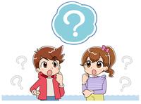 男の子と女の子 疑問 (アニメ・ゲーム風テイ
