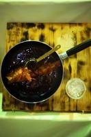 魚の煮つけ(食品サンプル)