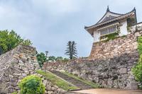 岡山城 不明門と鉄門跡