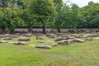 岡山城 旧天守閣の礎石