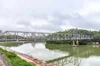 旭川に架かる月見橋