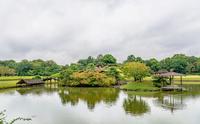 後楽園と岡山城天守閣