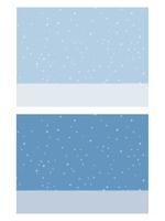 しんしんと降り積もる雪の背景