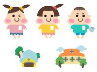 保育園と園児ちゃんたち