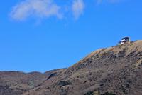 箱根駒ヶ岳と冬空