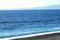 駿河の冬の海