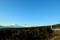 三島スカイウォークから眺める富士山