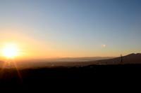 三島スカイウォークから眺める夕景