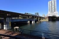 天王洲京浜運河とモノレール