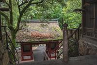 吉備津神社 北随身門