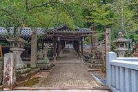 吉備津神社の風景