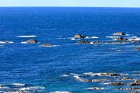 潮岬から見る冬の海