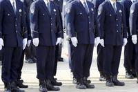 警察官 整列