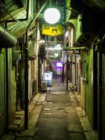 京成立石 夜景