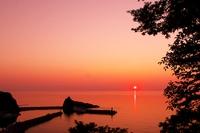 Sunset in Shiretoko