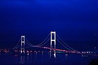 Superb view of Muroran Swan Bridge