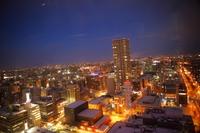 Sapporo-shi Odori of the new three major night view