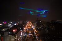 White Illumination Laser Knight