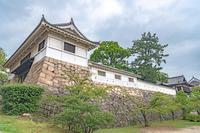 福山城 筋鉄御門と多聞櫓