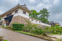 福山城の風景
