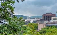 福山城からの福山市街地の眺望