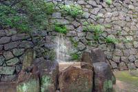 福山城 石垣の排水口
