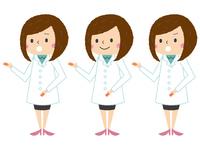インフルエンザ・風邪などの症状説明のためのイラスト