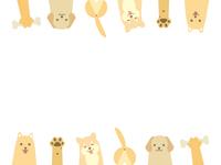 犬のフレーム1