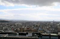 京都タワーから眺める街並み