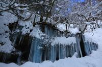 西和賀町の氷柱