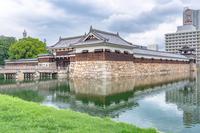 広島城 表御門の風景