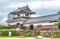 広島城 多聞櫓と太鼓櫓