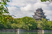 広島城の風景