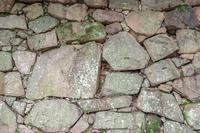 背景素材 広島城石垣