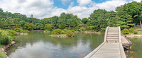 縮景園 跨虹橋