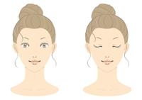 若い女性の美容イメージ フルカラー01