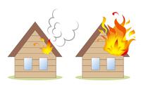 住宅火災とボヤ