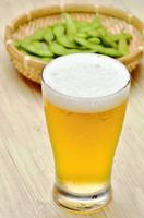夏の味覚 ビールと枝豆