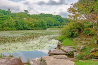 防府市 毛利氏庭園の風景