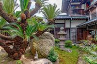 旧毛利家本邸 邸宅の庭園