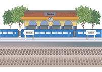 駅のイメージ(駅舎とホーム)