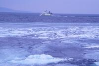 オホーツク海の美しい流氷