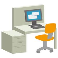 ビジネス デスク パソコン