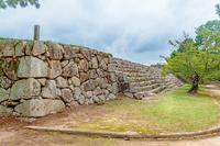 萩城 本丸石垣