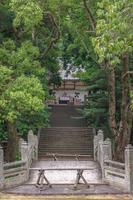 萩城本丸跡 志都岐山神社の参道風景